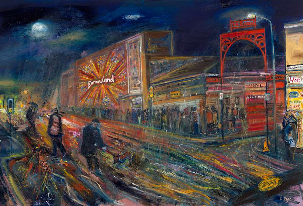 Limited edition prints of Dreich Night at The Barras now available
